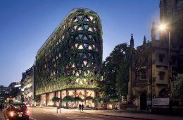 Citicape House, l'edificio avvolto da 400.000 piante