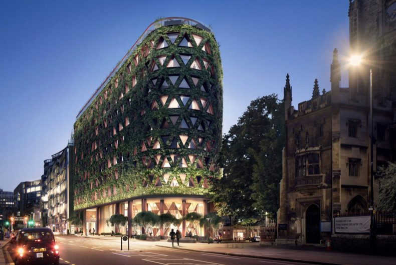 Citicape House, the building surrounded by 400,000 plants