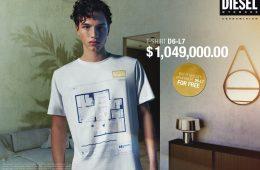 DIESEL e la maglietta più cara al mondo