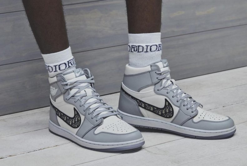 The new Air Jordan I High OG by Dior