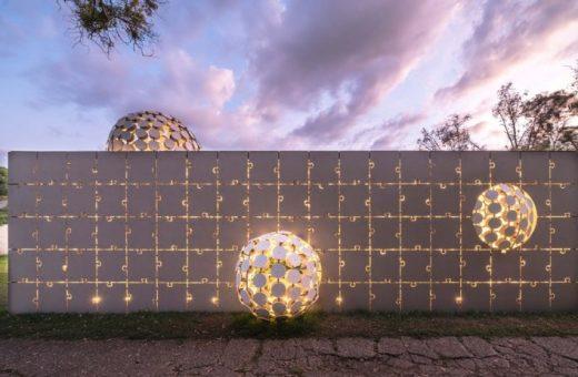 Egaligilo, il padiglione progettato da Gerardo Broissin
