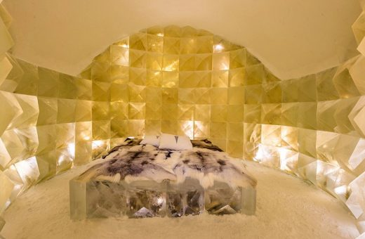 ICEHOTEL, the hotel built with snow and ice