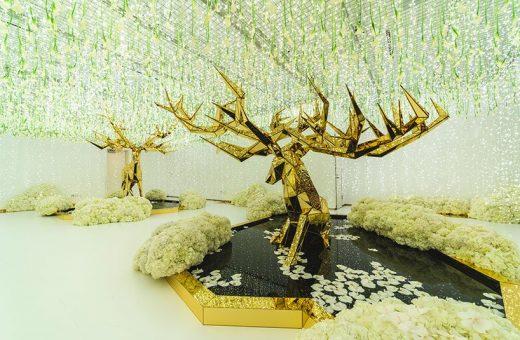 INTERSECT BY LEXUS presents Winter Glow installation