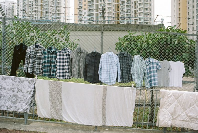 Laundry Art, a poetic project by Ho Wing Ka Jimmi