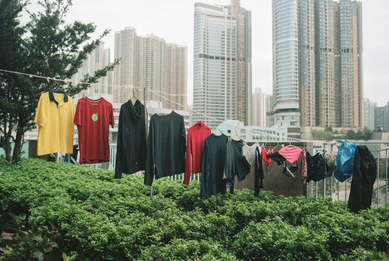 Laundry Art, il poetico progetto di Ho Wing Ka Jimmi