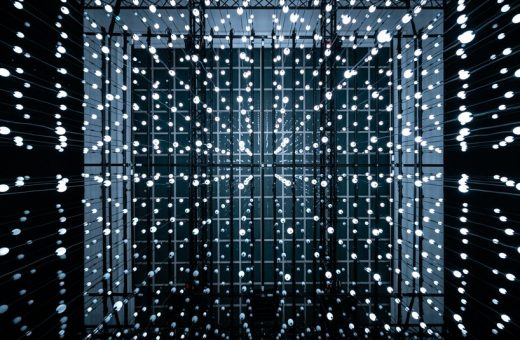 Light Architecture, the light installation in Budapest