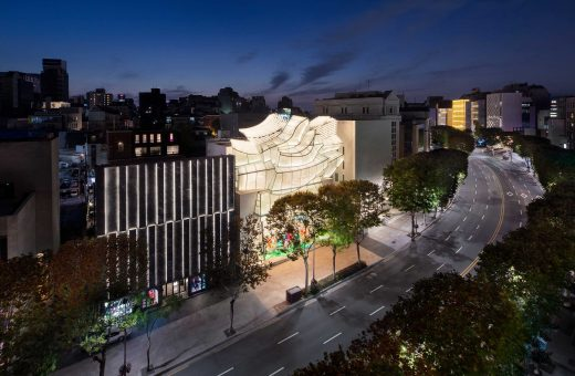 La Maison Louis Vuitton di Seoul progettata da Frank Gehry