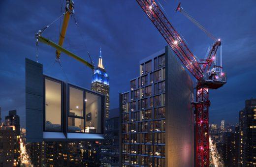 Modular AC Hotel Nomad, l'hotel modulare più alto al mondo