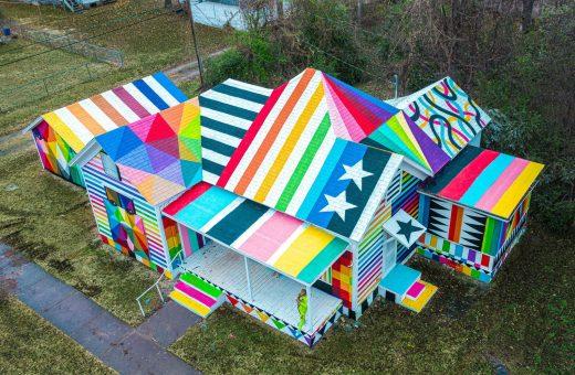 Okuda San Miguel's The Rainbow Embassy
