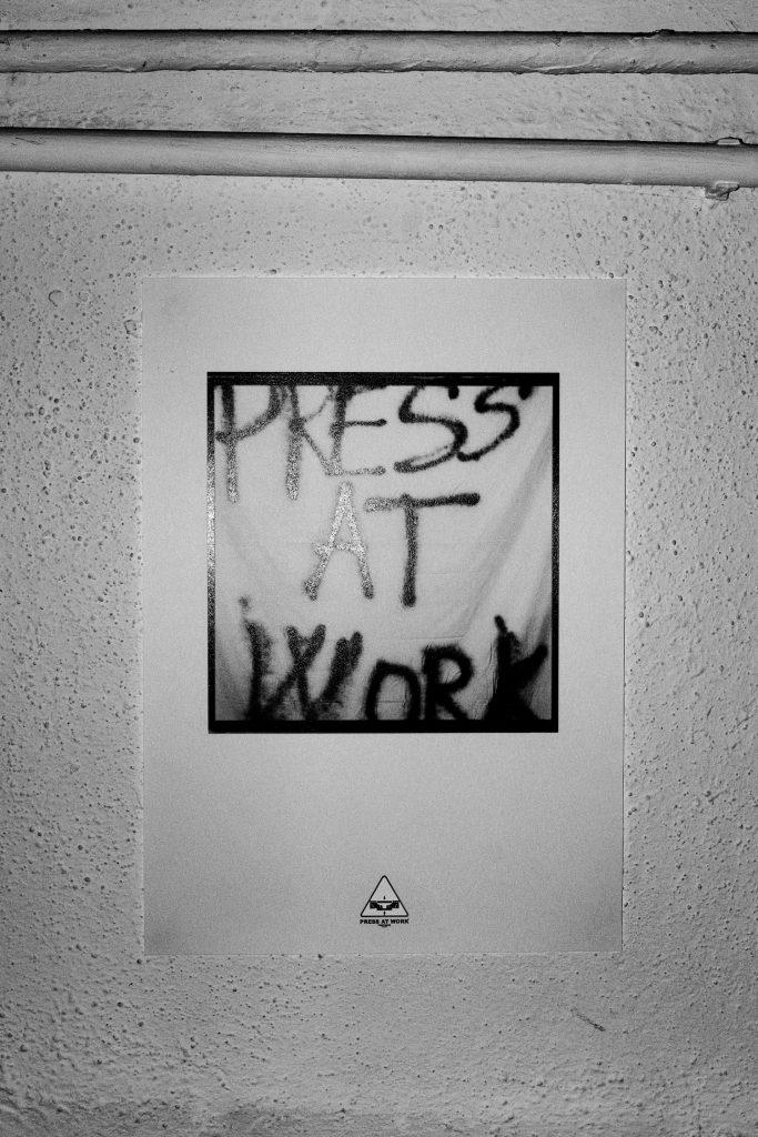 Press at Work Matteo Pressamariti | Collater.al