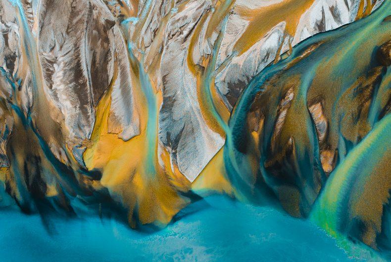 River Paintings, Gábor Nagy trasforma i paesaggi in acquerelli