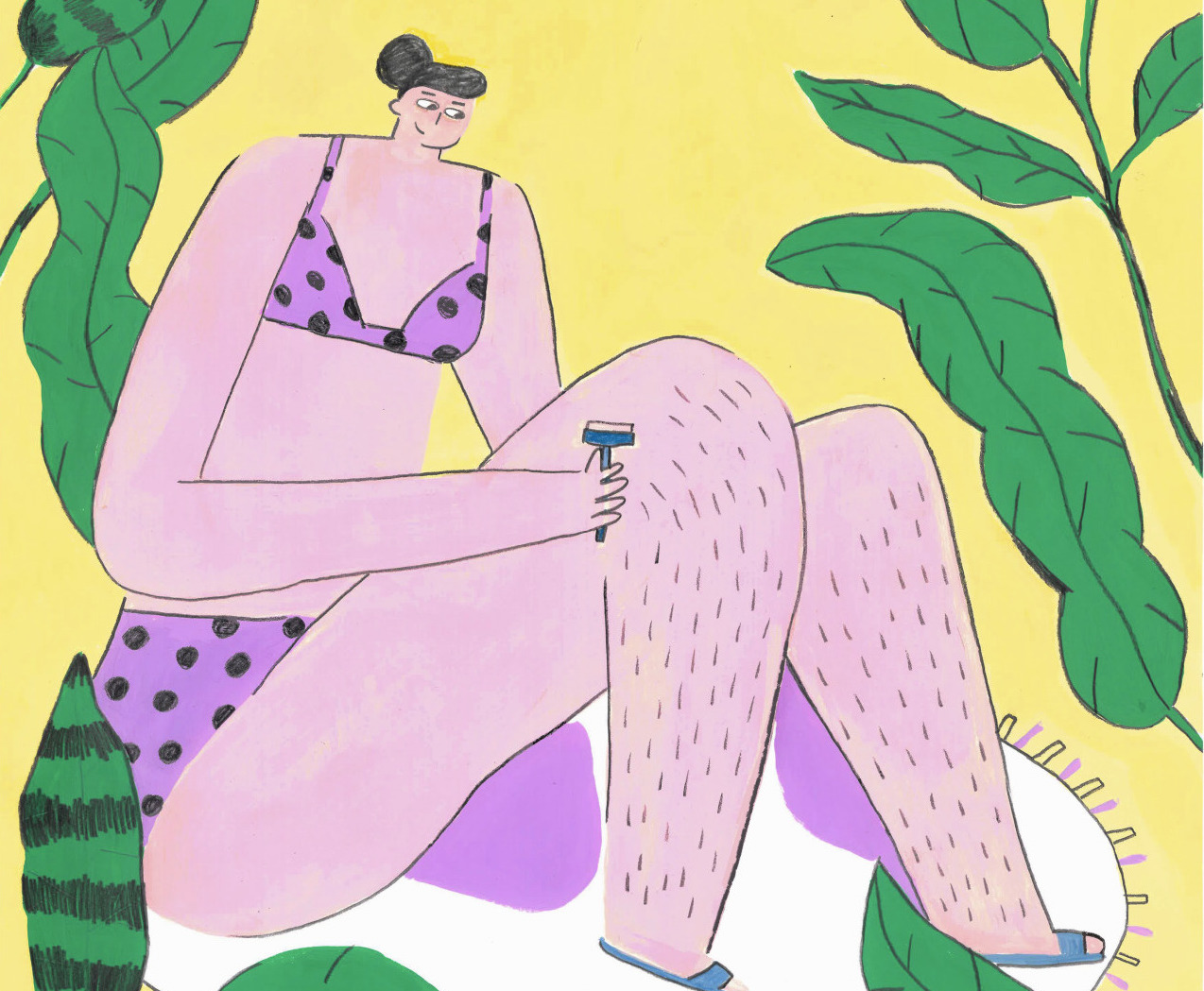 The illustrations on taboos of sexuality by Shut Up Claudia