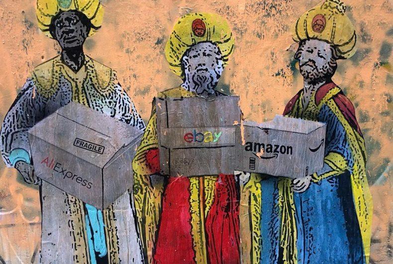 TVBOY ci augura Buon Natale con 3 nuovi murales