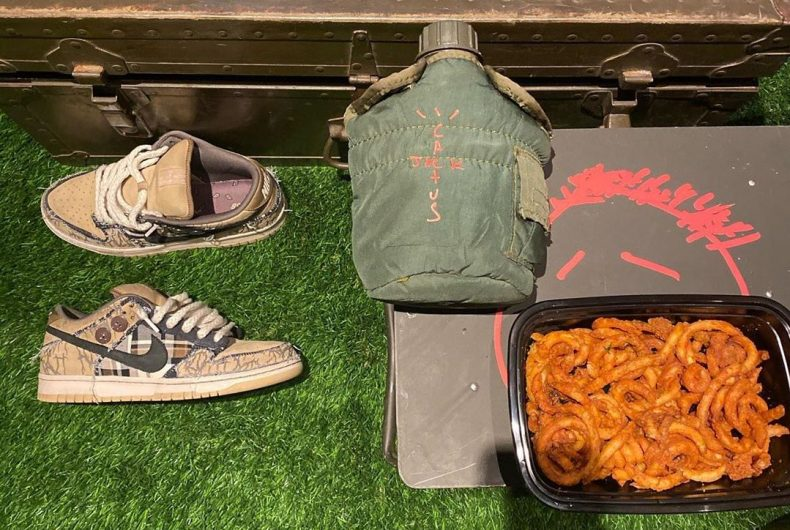Travis Scott x Nike SB Dunk Low, the new collaboration