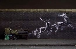 Un nuovo murale di Banksy è apparso a Birmingham