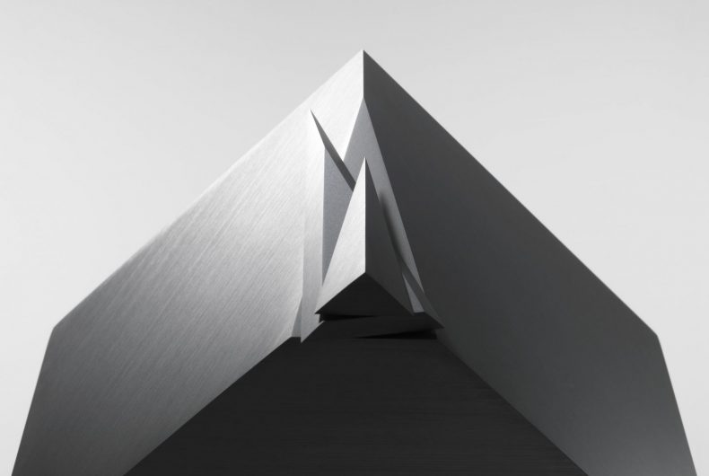 Cubic Clock, Nendo's clock in the shape of a cube