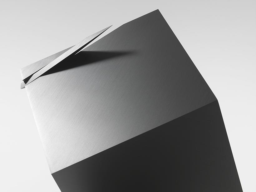 nendo cubic clock | Collater.al