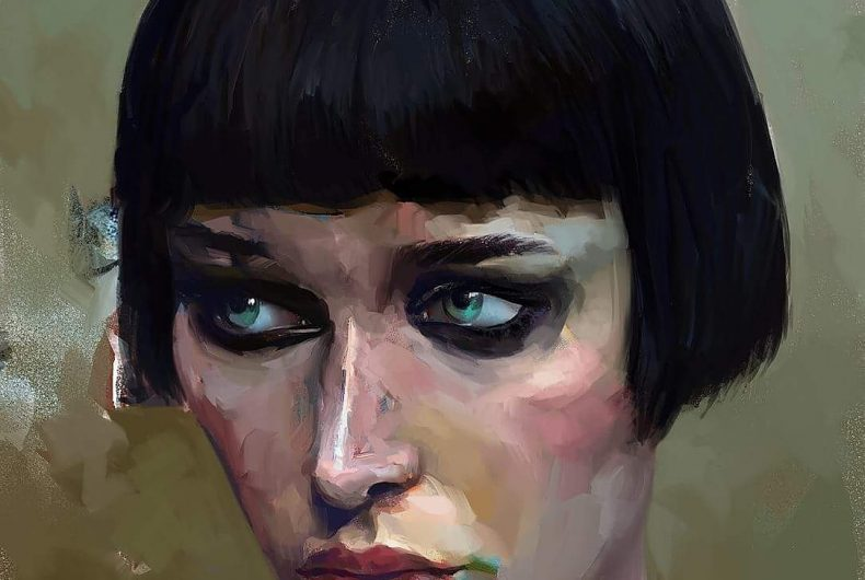@milkformycoconut, digital art and master of oil painting
