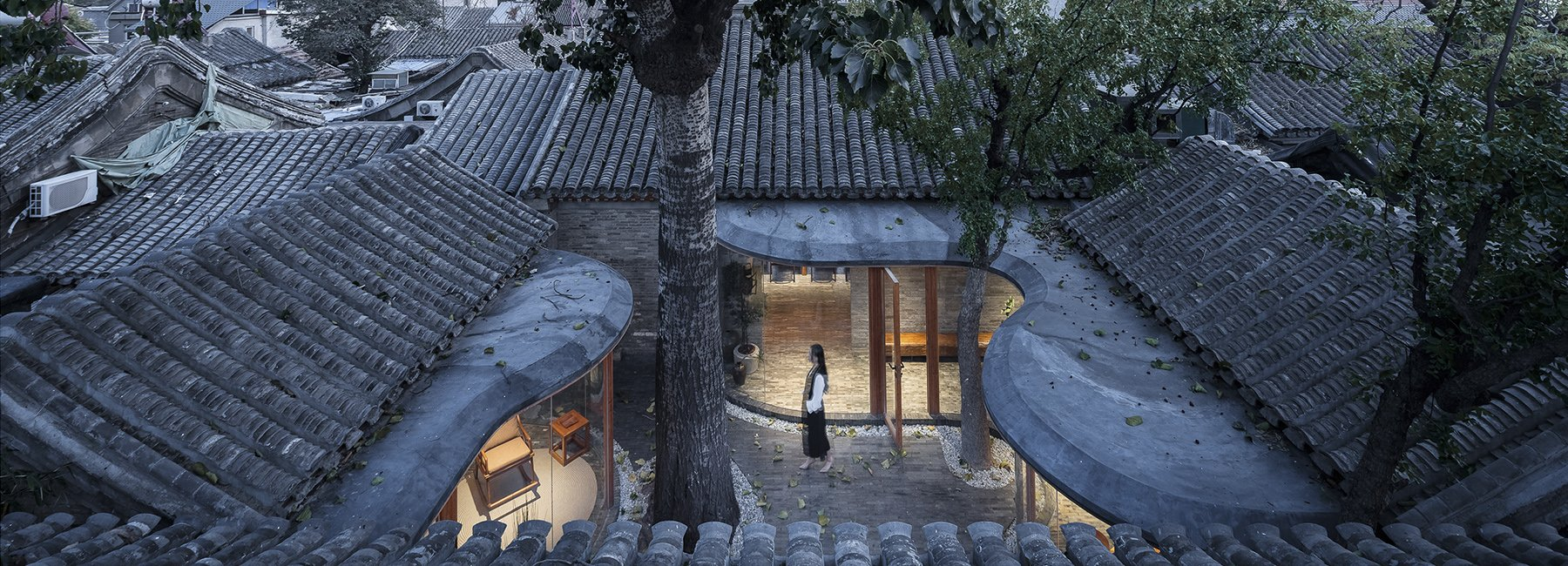 Archstudio renovates a Siheyuan in China