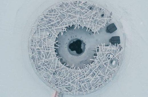 Arctic Bath, l'hotel galleggiante in Svezia