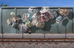 I murales di Cinta Vidal che sfidano la gravità