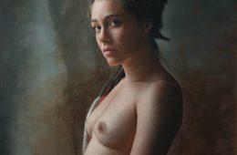 Anne-Christine Roda's hyper-realistic portraits