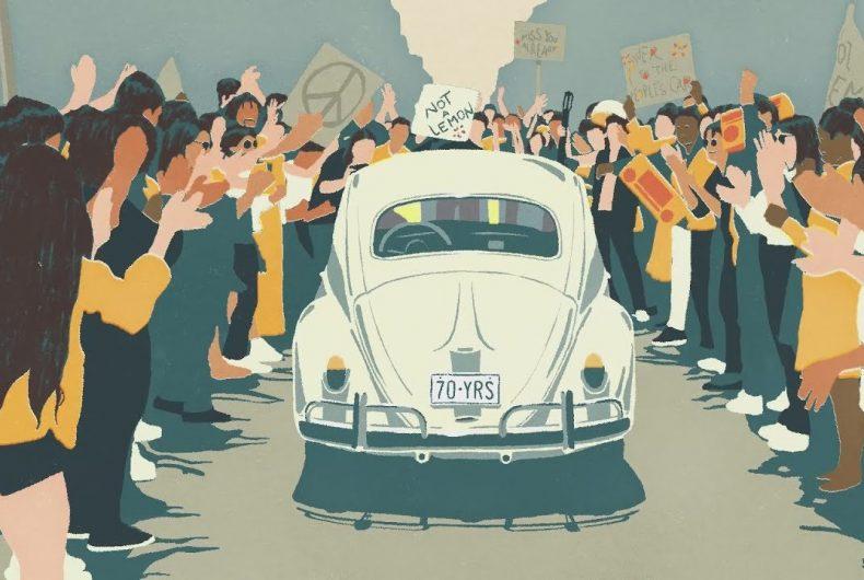 Il corto di Volkswagen per salutare il mitico Maggiolino