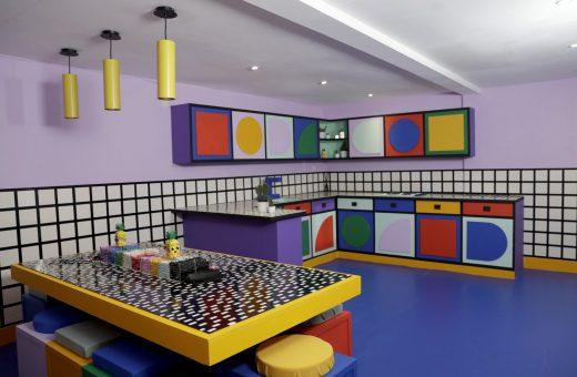 Lego presenta House of Dots con Camille Walala