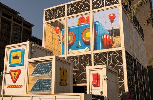 Leon Keer, la sua opera per il Dubai Steet Museum