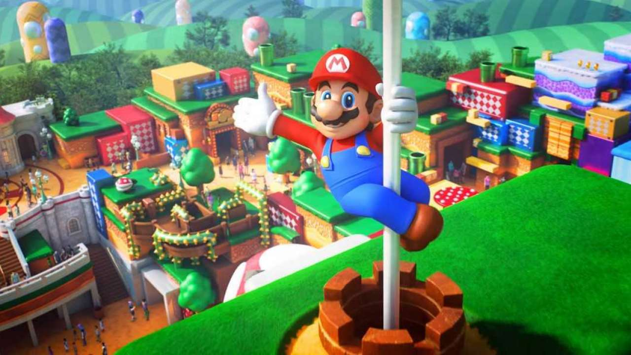 The Super Mario theme park is coming this summer