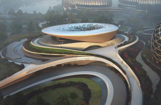 The Unicorn Island masterplan by Zaha Hadid Architects