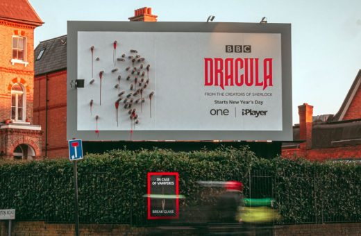 The BBC's brilliant campaign for the Dracula series