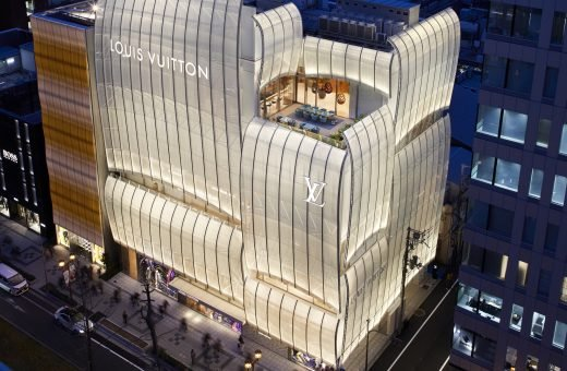 The Louis Vuitton Flagship Store in Osaka