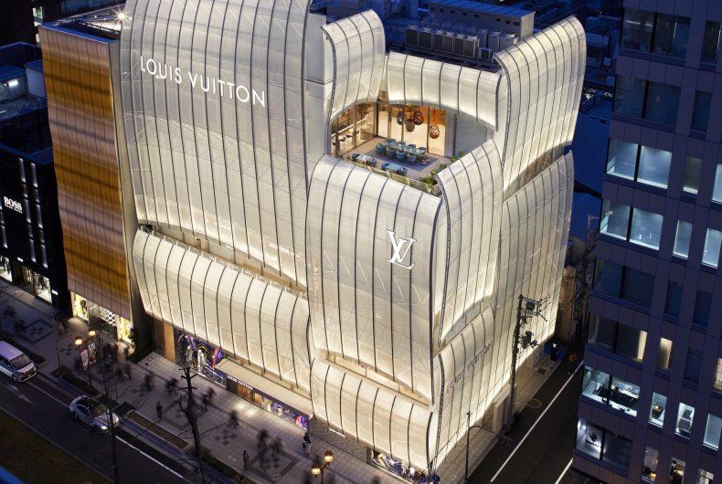 Il Louis Vuitton Flagship Store di Osaka