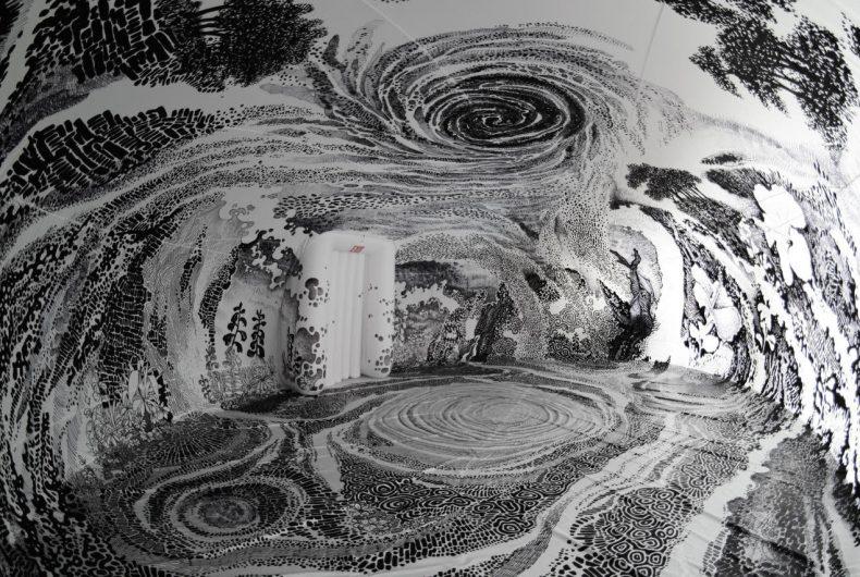 Dreams of a Sleeping World, la mostra di Oscar Oiwa