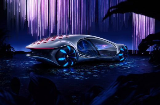 The Vision AVTR by Mercedes-Benz, the car inspired by Avatar