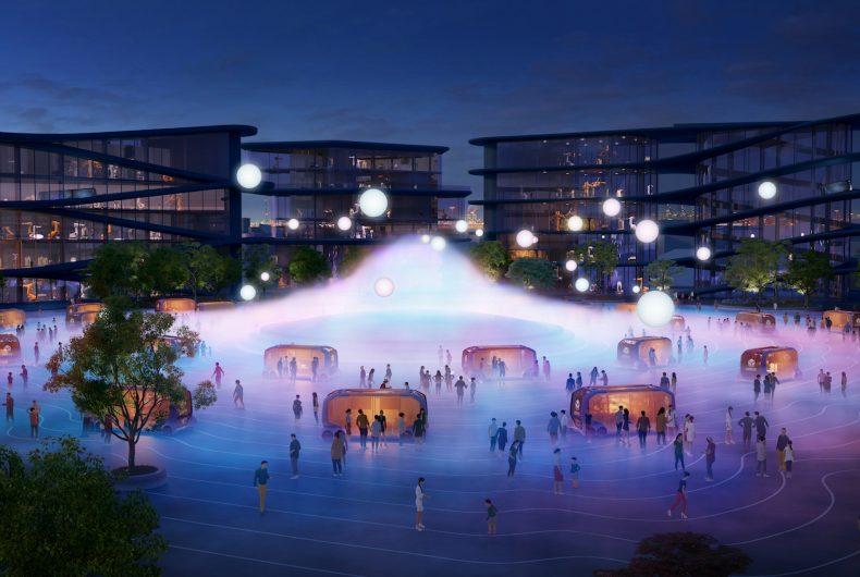 Woven City, la città del futuro secondo Toyota