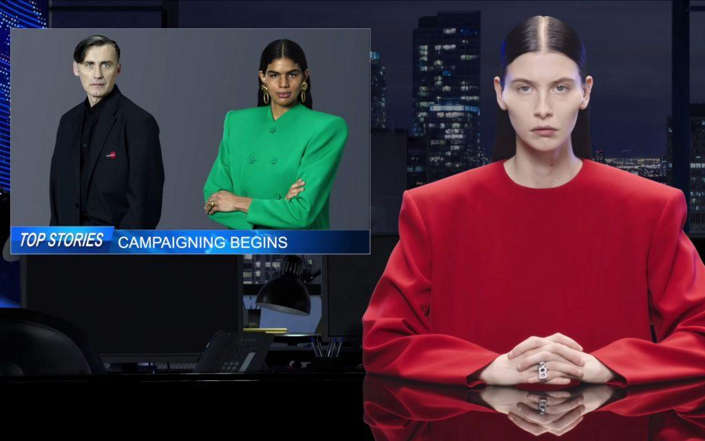 originale più votato attraente e resistente tessuti pregiati La distopica campagna di Balenciaga | Collater.al