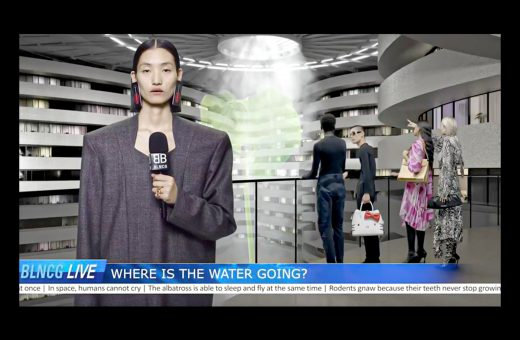 The dystopian campaign of Balenciaga