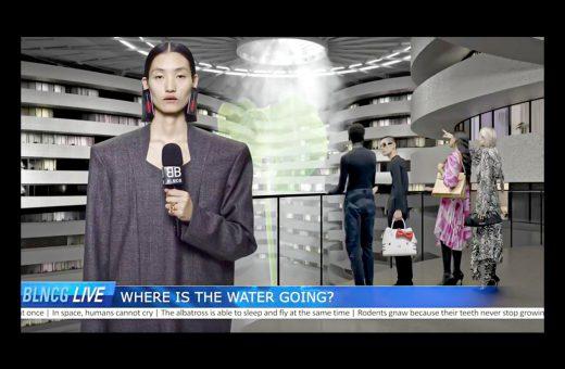 La distopica campagna di Balenciaga
