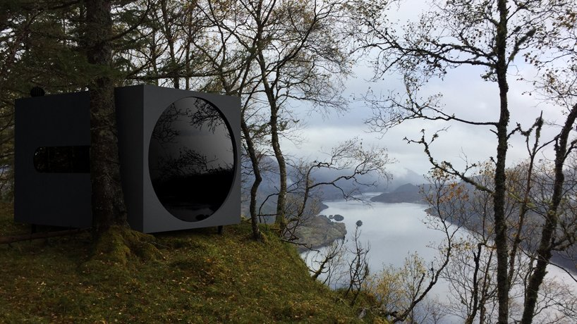 Birdbox, small shelters in the Norwegian fjords | Collater.al