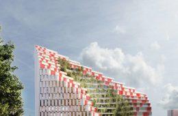 Exspozita Building, the green project for Tirana