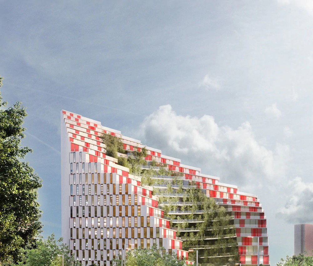 Exspozita Building, the green project for Tirana | Collater.al