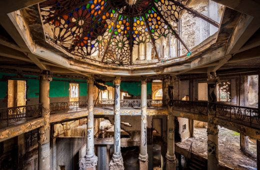 James Kerwin and the charm of abandoned buildings