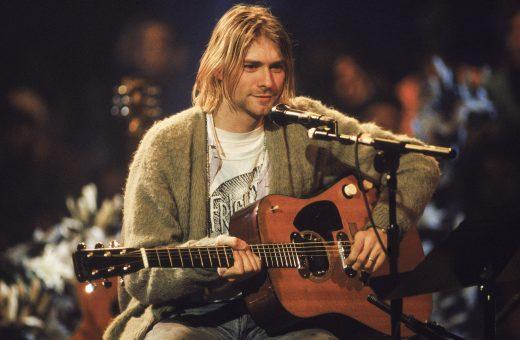 Kurt Cobain's cardigans