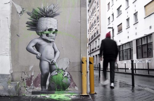 Urban artist Ludo strikes again