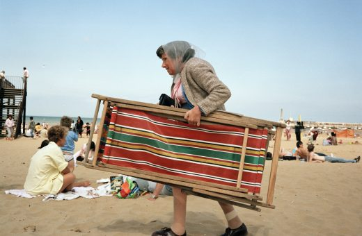 Life's a beach, Martin Parr on display in Livorno
