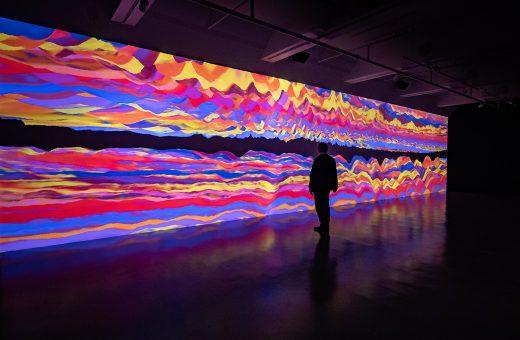 Oscillations 2020, l'ultima opera di Miguel Chevalier