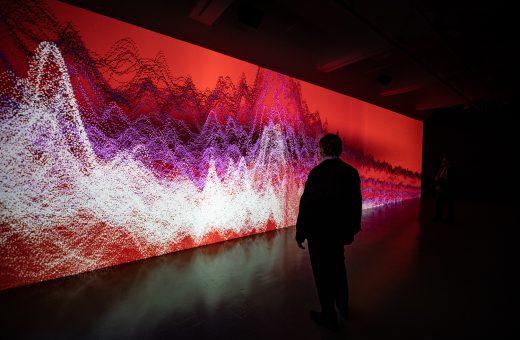 Oscillations 2020, Miguel Chevalier's latest work