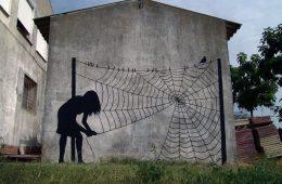Pejac's minimalist street art